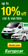 up to 10% off car & van hire - Book now - Europcar